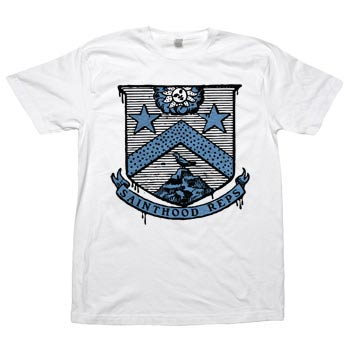 Sainthood Reps - Coat of Reps on White Fine Jersey Slim Fit - T-shirts