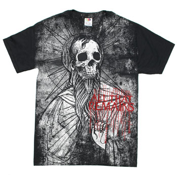 All That Remains - Skull Priest on Black Fine Jersey Slim Fit - T-shirts
