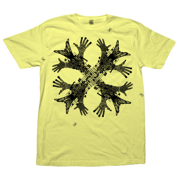 Sparrow Media - Cameroon on Lemon American Apparel Fine Jersey - T-shirts
