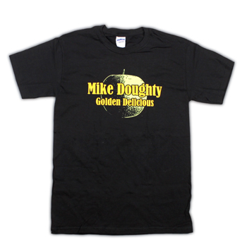 Mike Doughty - Golden Delicious on Black - T-shirts