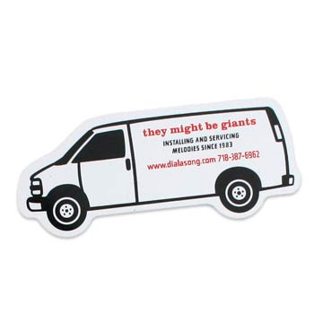 They Might Be Giants - Van Sticker 3 Pack - Accessories