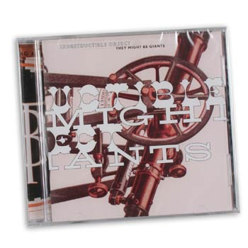 They Might Be Giants - Indestructible Object - CDs and DVDs