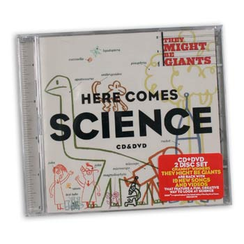 They Might Be Giants - Here Comes Science - CDs and DVDs