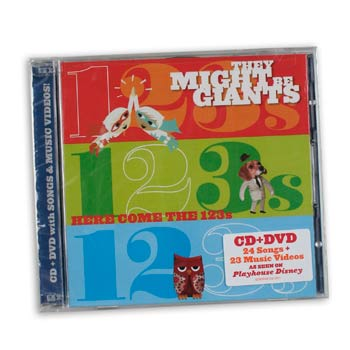 They Might Be Giants - Here Comes The 123s - CDs and DVDs