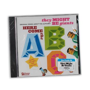 They Might Be Giants - HERE COMES THE ABC's - CDs and DVDs