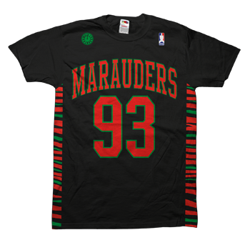 A Tribe Called Quest - Marauders 93 Black - T-shirts