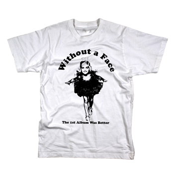 Without A Face - Ballerina on White - T-shirts