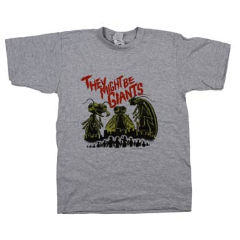 They Might Be Giants - Bugs Kids on Grey - T-shirts