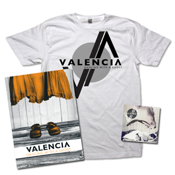 Valencia - Dancing With A Ghost CD / Poster / T-Shirt Combo - Combos