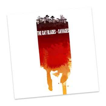 The Gay Blades - Savages - CDs