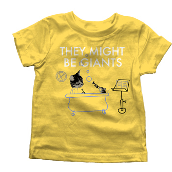 They Might Be Giants - Work on Yellow - T-shirts