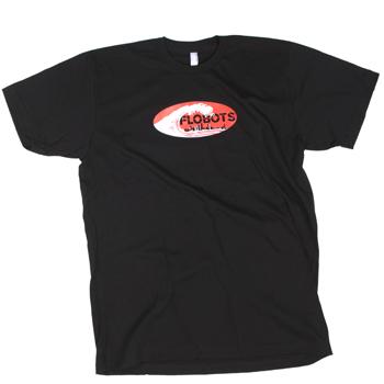 Flobots - Wave on Black Slim Fit Fine Jersey - T-shirts