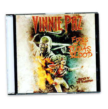 Jedi Mind Tricks - Vinnie Paz Fires of the Judas Blood Mixtape - CDs