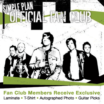 Simple Plan - Official Fan Club Membership - Official Fan Club