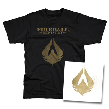Fireball Ministry - Collector's Edition 180gram Self Titled White Vinyl / T Shirt Combo - Vinyl