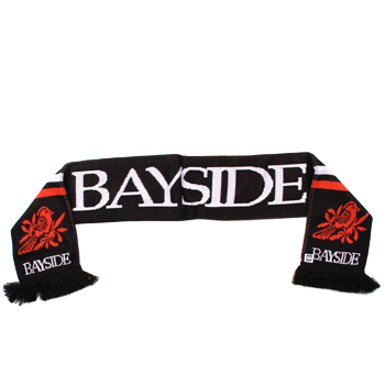Bayside - Bird Logo Scarf on Black - Accessories