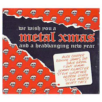 Various Artists - We Wish You A Metal Xmas & A Headbanging New Year - CDs