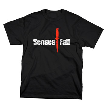 Senses Fail - Dagger - T-shirts