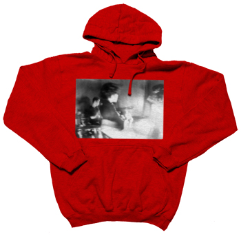 Brand New - Tour 09 Ghost with Dates on Red Pullover - Sweatshirts