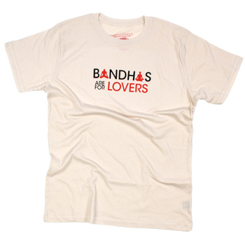 Yoganonymous - Bandhas are for Lovers Organic Tee - T-shirts