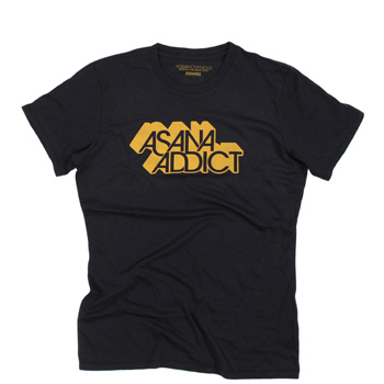 Yoganonymous -Asana Addict Organic Tee - T-Shirt - T-shirts