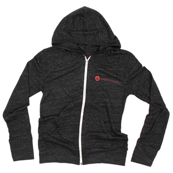 Yoganonymous - Zip Up Logo Eco-Hoodie - Sweatshirts