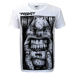 The Prodigy - Lip Tattoo on White - T-shirts
