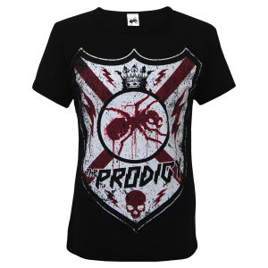The Prodigy - Shield Design on Black - T-shirts