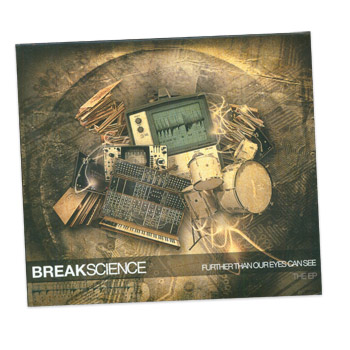Break Science - Further Than Our Eyes Can See - CDs