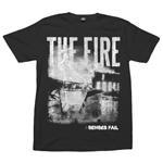 Senses Fail - The Fire on Black - T-shirts