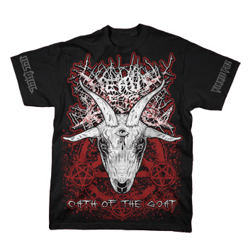 Heavy Metal Kings - Oath of the Goat on Black - T-shirts