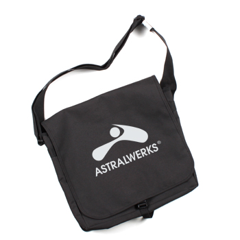 Astralwerks - Logo Record Bag on Black - Bags