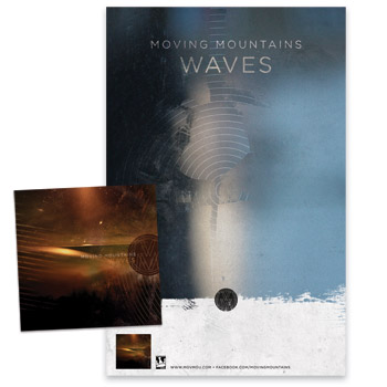 Moving Mountains - Waves CD & Poster - CDs