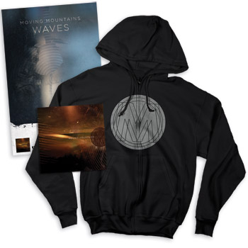 Moving Mountains - Waves CD Sweatshirt & Poster - CDs