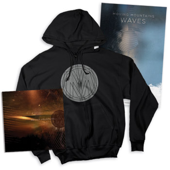 Moving Mountains - Waves LP Sweatshirt & Poster - Vinyl