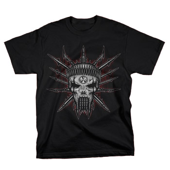 Heavy Metal King - Metalhead on Black - T-shirts