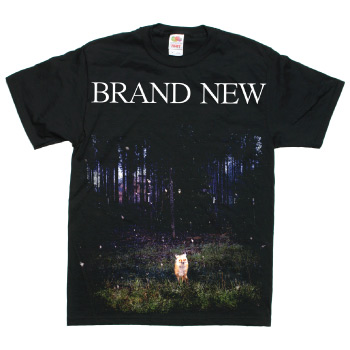 Brand New - Daisy on Black - T-shirts