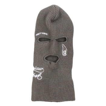 Glassjaw - NinetyThree Asphalt Embroidered Ski Mask - Classic