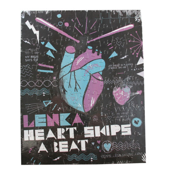 Lenka - Heat Skips A Beat Jigsaw Puzzle - Collectibles