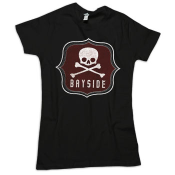 Bayside - Poison Womens on Black - T-shirts