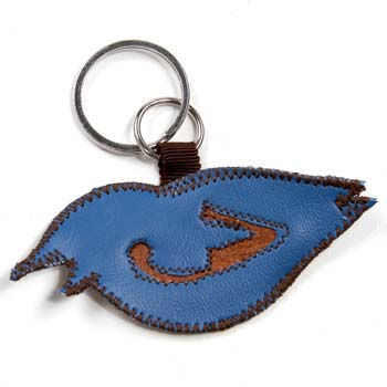 Vespertina - Blue Nightingale Keychains - Accessories