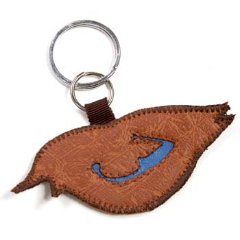 Vespertina - Brown Nightingale Keychains - Accessories