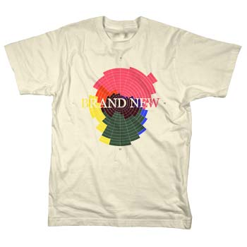 Brand New - Color Radar on Natural - T-shirts