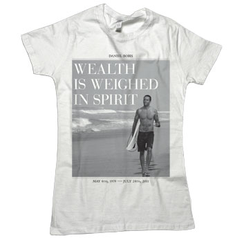 Sparrow Media - Daniel Bobis Benefit Womens Tee  - Women's