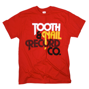 Tooth & Nail - Tooth & Nail: Curved on Red - T-shirts