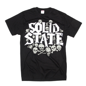 Solid State - Solid State: Skull Party - T-shirts