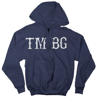 They Might Be Giants - Baseball Zip-Up on Navy - Sweatshirts