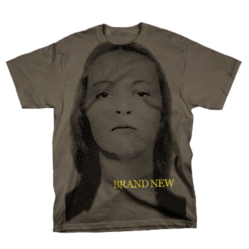 Brand New - Jane on Charcoal - T-shirts