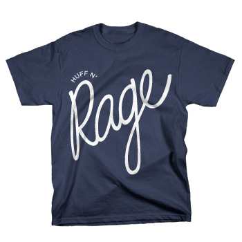Lettuce - HuffnRage on Navy Blue - T-shirts
