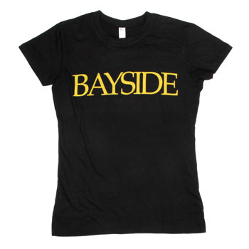 Bayside - Bird Circle on Black - Women's